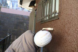 モルタル外壁の確認
