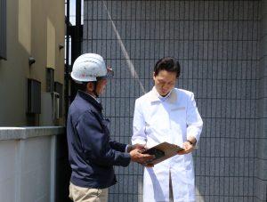 ルーフカメラで屋根の調査|東京都府中市多磨町T歯科医院