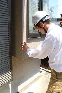 外壁・屋根の塗装後の状態を調査しました|神奈川県横浜市鶴見区I様邸