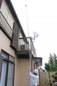 5年前の屋根葺き替え工事を確認しました|東京都三鷹市中原H様邸