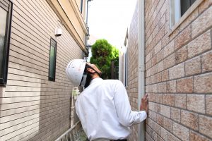 輸入住宅の外壁を調査しました/東京都世田谷区成城T様邸