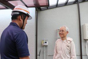 外壁の塗膜剥離を補修|東京都調布市深大寺H様邸