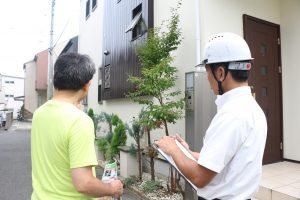 塗装2年後に外壁調査をしました|神奈川県川崎市多摩区H様邸