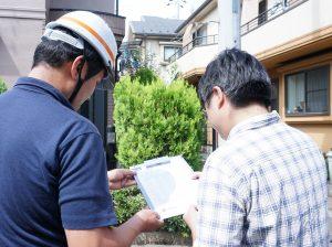 ツートーンカラーの住宅を調査しました|東京都調布市布田S様邸