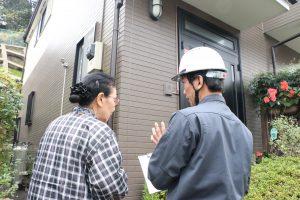 外壁サイディングボードの調査をしました|神奈川県横浜市緑区上山H様邸