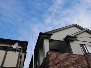 ルーフカメラで屋根と外壁の確認を行いました|神奈川県横浜市泉区M様邸