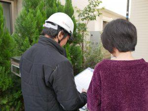 スレート屋根に塗膜剥離がないか調査しました|東京都武蔵野市関前 I様邸