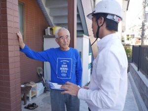 台風のあとの棟板金を調査しました。|神奈川県横浜市旭区A様邸